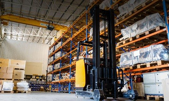 Providing storage and handling services, reception and releasing of the cargo